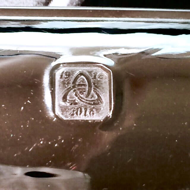 centenary mark on silver